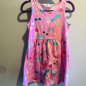 H&M summer toddler girl dress